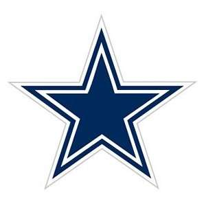 Dallas Cowboys 12x12 Die Cut Window Film