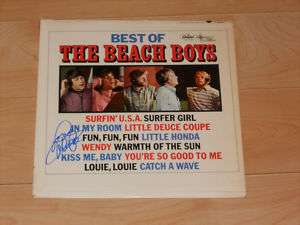 The Beach Boys Mike Love autographed Best Of LP Album