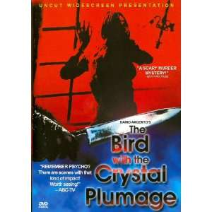 The Bird with the Crystal Plumage (DVD) Horror (1970) 98