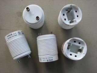 Base Adapters 18 w 120 volt Twist and Lock Ballast Socket Adapter (2