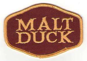 Malt Duck Original Wine Beer BAR Patch 70s classic