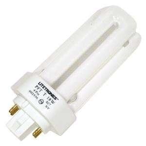 2700K 4 PIN Triple Tube 4 Pin Base Compact Fluorescent Light Bulb