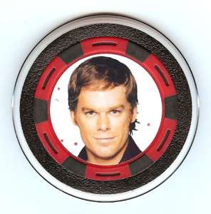Dexter Collector Poker Chip/Card Guard