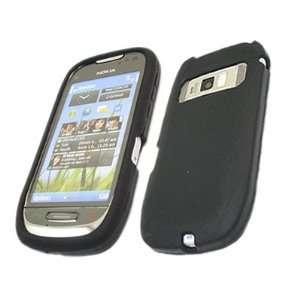 iTALKonline BLACK Soft Silicone Case/Cover/Skin For Nokia