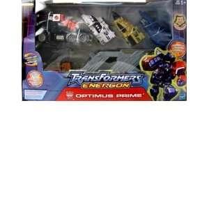 Transformers Energon Super  Optimus Prime Action Figure