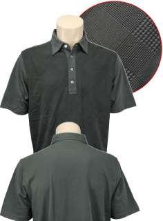 Ashworth EZ Tech Houndstooth Mens Polo Shirt