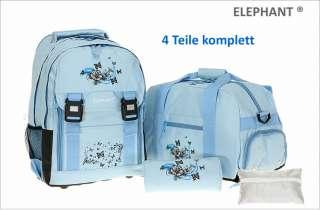 rucksack artikelfarbe sky blue hellblau blau mit schmetterling