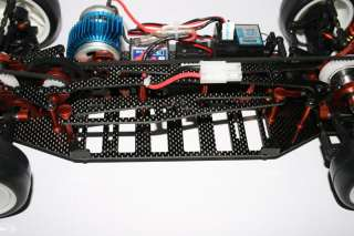 10 RC Belt driven Racing Car Carbon Fibre chassis