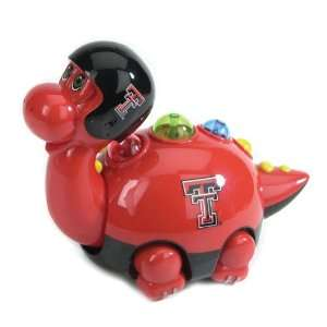 Tech Red Raiders Musical Animated Dinosaur Toys 6 Home & Kitchen