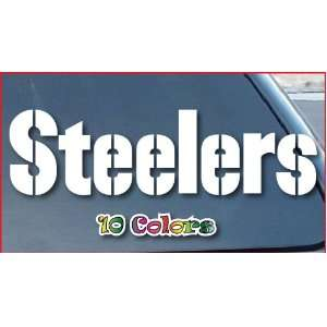 Pittsburgh Steelers S Car Window Vinyl Decal Sticker 7 Wide (Color