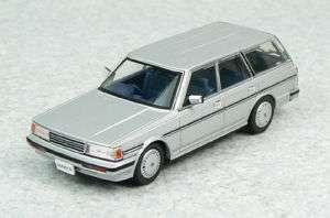 Aoshima DISM 79041 Toyota Mark II Wagon Silver 1/43 scale
