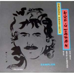 GEORGE HARRISON LIVE IN JAPANSAMPLER CD. george harrison. Music