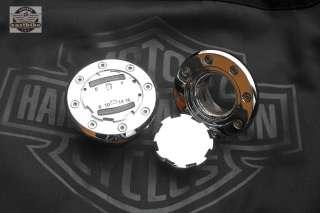 Tankdeckel LED Tankanzeige Kit Harley Davidson Softail Dyna