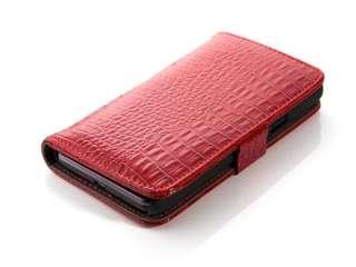 Samsung Galaxy i9100 S2 KROKO Leder Tasche Hülle Etui