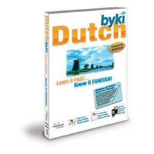 Byki Dutch Language Tutor Software & Audio Learning CD ROM for Windows