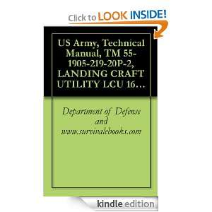 US Army, Technical Manual, TM 55 1905 219 20P 2, LANDING CRAFT UTILITY