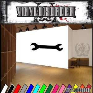 Tools Wrench NS002 Vinyl Decal Wall Art Sticker Mural