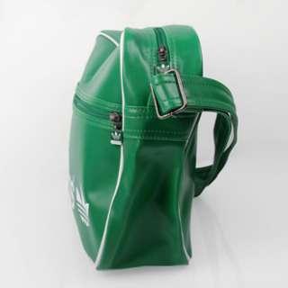 Adidas AC Airline Bag Tasche Grün Weiß