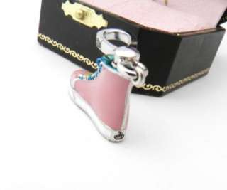 Auth Juicy Couture Pink Sneaker Charm