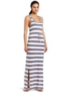 C&C California Womens Bold Sripe Maxi ank Dress Clohing