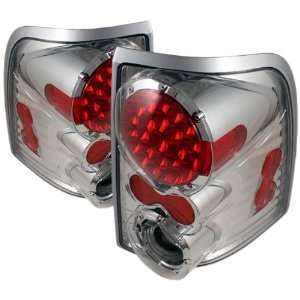 LED C Ford Explorer 4 Door/Mercury Mountaineer Chrome LED Tail Light