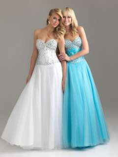 Tulle Quinceanera/Ball gown/Evening/Prom dress/SZ 6 8 10 12 14