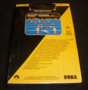 Buck Rogers Factory Sealed Video game Atari 400/800/1200