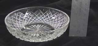AMERICAN BRILLIANT PERIOD ABP CUT GLASS FINGER BOWLS/DISHES
