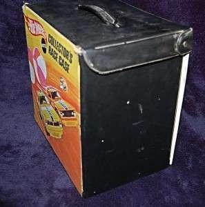 Vintage Mattel 48 Car Hot Wheels Collectors Race Carrying Case