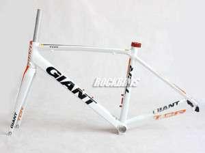 2011 GIANT TCR Road Bike Aluminum Frame Carbon Fork 465mm Size S White