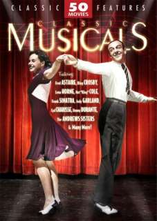 CLASSIC MUSICALS 50 MOVIE PACK DVD New Sealed