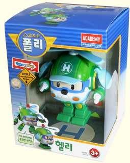 Robocar Poli Transformable Package / Poli+Amber+Roi+Heli Full