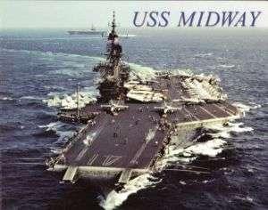 USS Midway CV41 Aircraft Carrier Clayton Navy Magazine