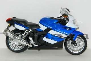 12 BMW K1200S (B) Diecast Model Motorcycle Sport Bike