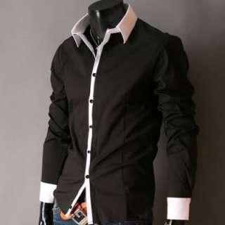 New Mens Casual Luxury Stylish Dress Slim Shirts ST01