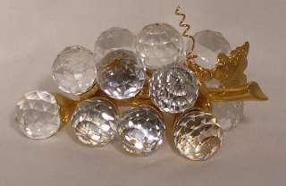SWAROVSKI crystal SMALL GRAPES 4 Gold 7550 020
