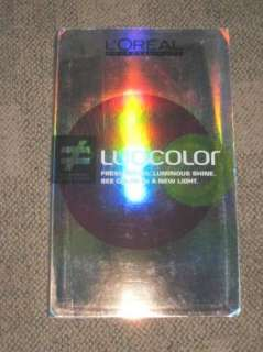 OREAL PROFESSIONNEL LUOCOLOR Large Color SWATCH BOOK VGC |
