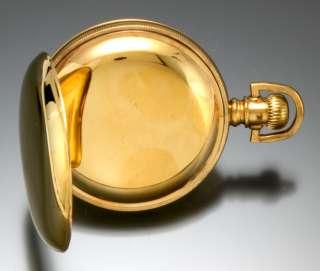 17 Jewel, 18 Size Gold Filled Hamilton Private Label Grade 924 Pocket