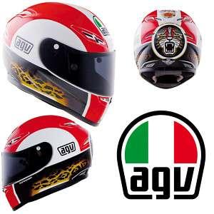 AGV GP TECH REPLICA MARCO SIMONCELLI MOTORCYCLE HELMET