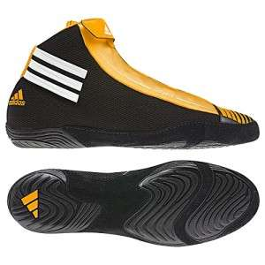 Adidas G50324 adiZero Sydney LIGHT WT Wrestling Shoes Zip Close Black