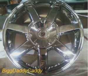 Cadillac CTS STS CHROMED FACTORY 17 OEM WHEELS