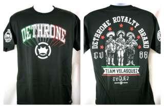 Cain Velasquez Y Que Dethrone Royalty Premium T shirt NEW