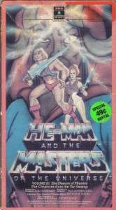 VHS HE MAN & MASTERS OF THE UNIVERSE VOLUME III