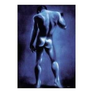 Joseph Stern   Blue Man Kunstdruck: .de: Küche & Haushalt