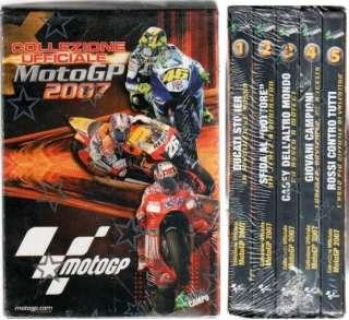 MOTO GP 2007   5 DVD Valentino Rossi Casey Stoner
