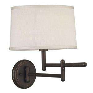 Kenroy Home Theta Wall Swing Arm Lamp 20942CB