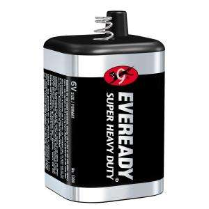 Eveready Super Heavy Duty 6 Volt Battery 1209 TP