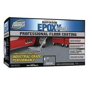 Rust Oleum Epoxy Shield Professional Semi gloss Dark Gray Floor