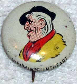 VITAMIN FLINTHEART © 1946 Kelloggs PEP Pin
