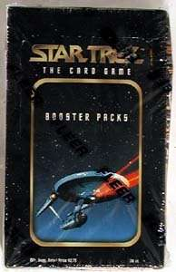 1996 Star Trek CCG Card Game Sealed Trading Card Box